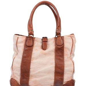Officine creative Italia canvas and leather bag